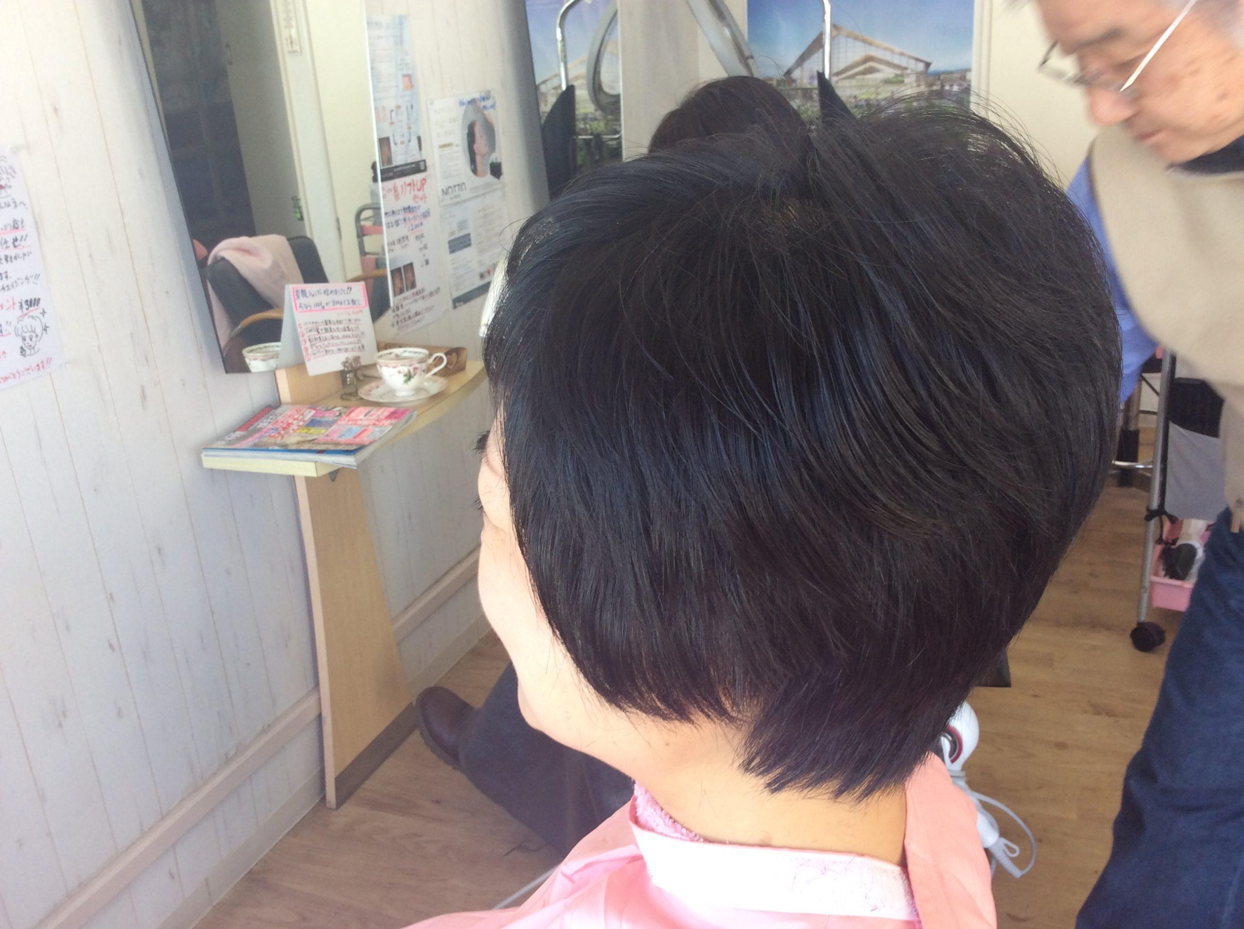 くせ毛のためのキュビズムカットで毎日のお手入が簡単
