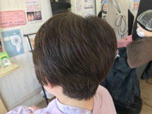 くせ毛が収まるカット