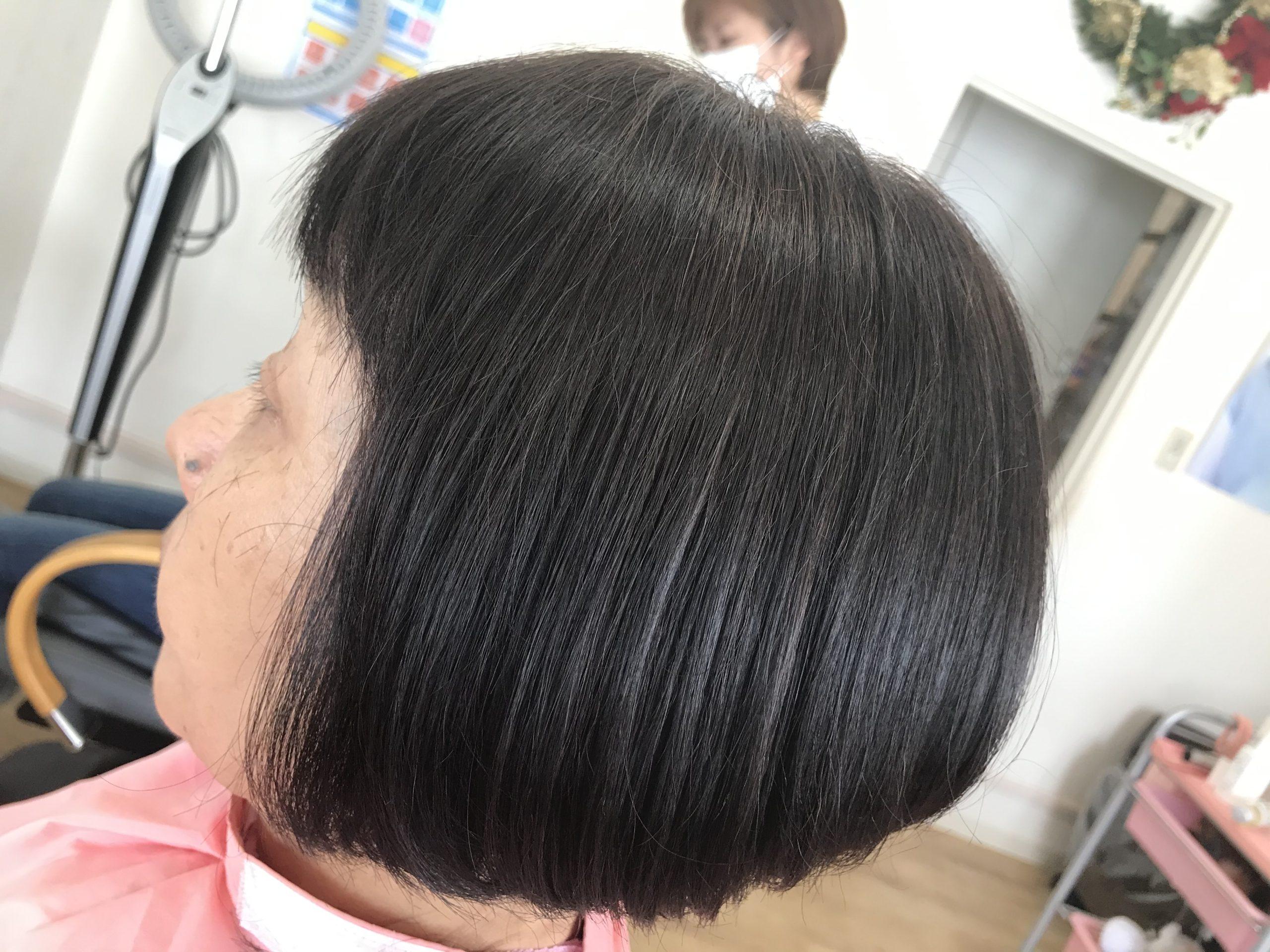 美髪再生トリートメントでサラサラ