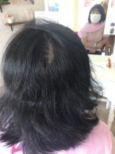 くせ毛も後ろの割れ目も収まるエンジェリックケア